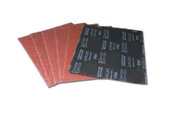 9X11 Aluminum Oxide Cloth Sheets